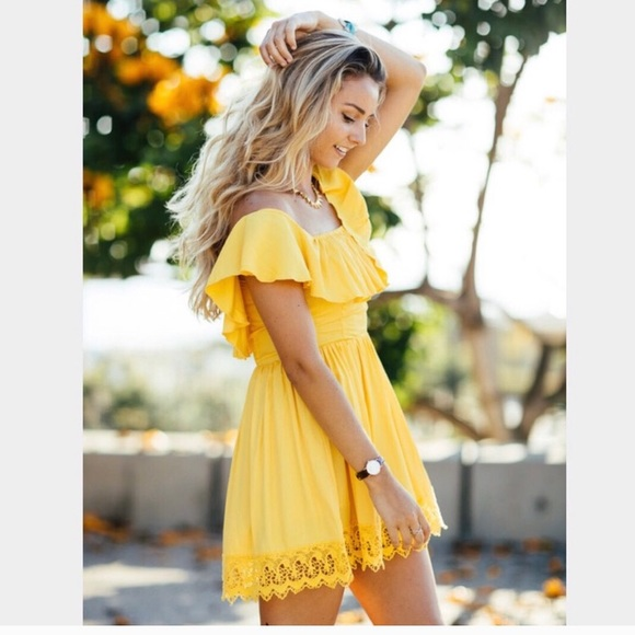 Lovers + Friends Dresses & Skirts - LOVERS + FRIENDS DREAM VACAY DRESS NWT